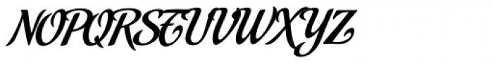 Malbeck Font UPPERCASE