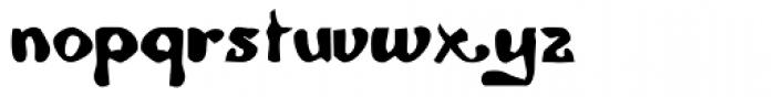 Malebroche Font LOWERCASE