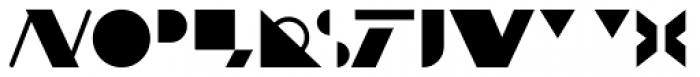 Malevich Font LOWERCASE