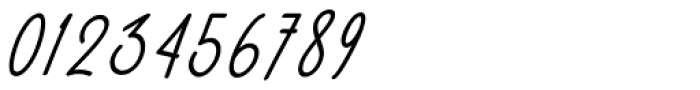 Malibbie Italic Font OTHER CHARS