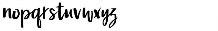Malibu Punch Rough Font LOWERCASE