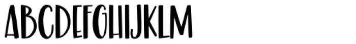 Malibu Punch Smooth Font UPPERCASE
