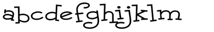 Malihini Cuban BTN Exp Font LOWERCASE