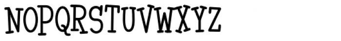 Malihini Tahitian BTN Cond Font UPPERCASE