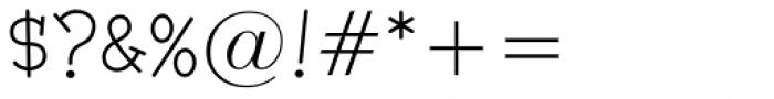Malihini Tahitian BTN Light Font OTHER CHARS