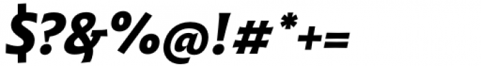 Malik Bold Italic Font OTHER CHARS
