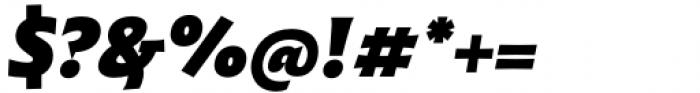 Malik Extrabold Italic Font OTHER CHARS