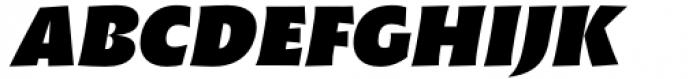 Malik Heavy Display Italic Font UPPERCASE