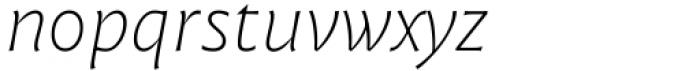 Malik Variable Italic Font LOWERCASE