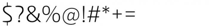 Malino Light Font OTHER CHARS