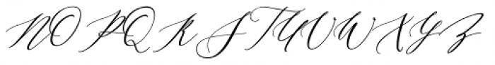 Malloy Font UPPERCASE