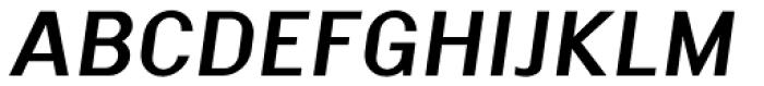 Malmo Sans Pro Bold Oblique Font UPPERCASE