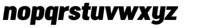 Malmo Sans Pro Headline Oblique Font LOWERCASE