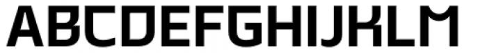 Malte Bold Font UPPERCASE