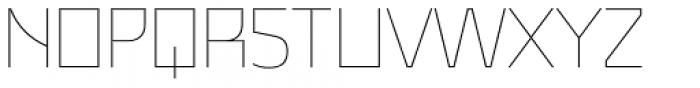 Malte Thin Font UPPERCASE