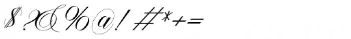 Malvina Regular Font OTHER CHARS
