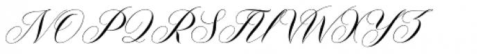 Malvina Regular Font UPPERCASE