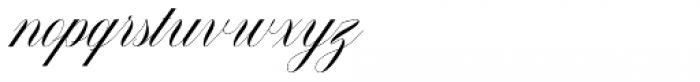 Malvina Regular Font LOWERCASE