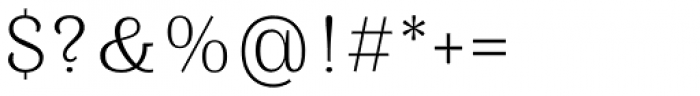 Mamontov Light Font OTHER CHARS
