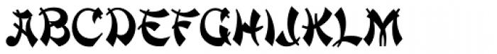 Mandarin D Font LOWERCASE