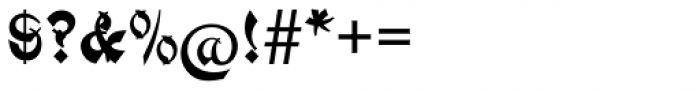 Mandarin EF Font OTHER CHARS