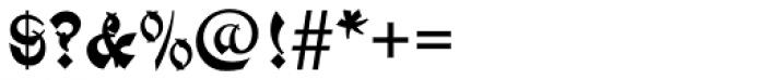 Mandarin Initials D Font OTHER CHARS