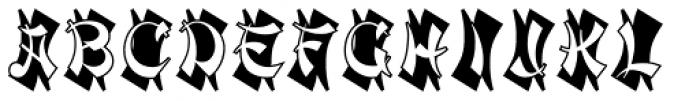 Mandarin Initials D Font LOWERCASE