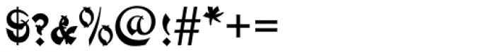 Mandarin SC D Font OTHER CHARS