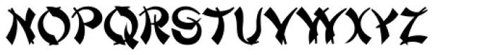 Mandarin SC D Font UPPERCASE