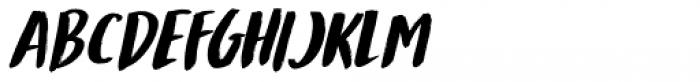 Mandarin Whispers Italic Font UPPERCASE