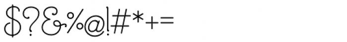 Mandevilla Basic-Bold Font OTHER CHARS
