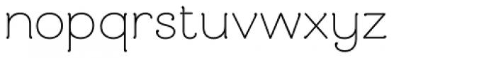 Mandevilla Basic-Bold Font LOWERCASE