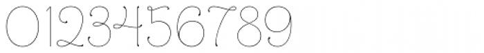 Mandevilla Light Basic-Light Font OTHER CHARS