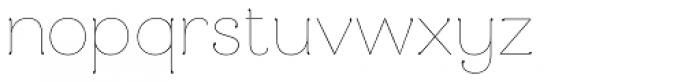 Mandevilla Light Basic-Light Font LOWERCASE