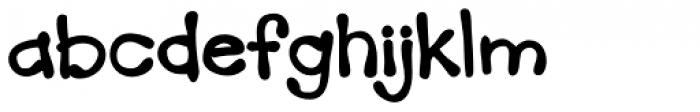 Mandingo BTN Bold Font LOWERCASE
