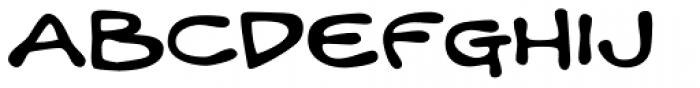 Mandingo BTN Ext Bold Font UPPERCASE