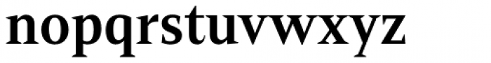 Mandrel Cond Bold Font LOWERCASE