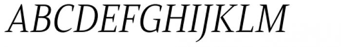 Mandrel Cond Light Italic Font UPPERCASE