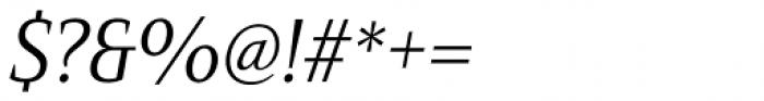 Mandrel Cond Regular Italic Font OTHER CHARS