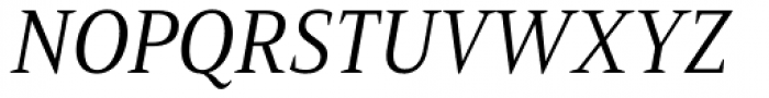 Mandrel Cond Regular Italic Font UPPERCASE