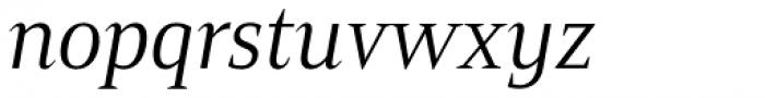 Mandrel Cond Regular Italic Font LOWERCASE