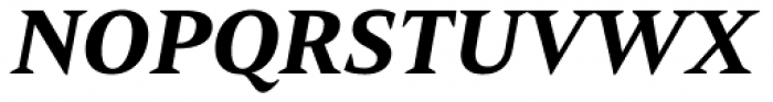 Mandrel Ext Black Italic Font UPPERCASE