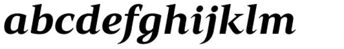 Mandrel Ext Black Italic Font LOWERCASE