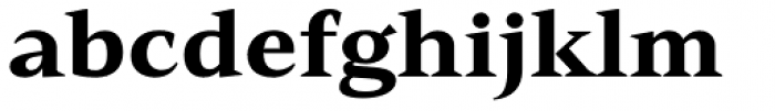 Mandrel Ext Black Font LOWERCASE