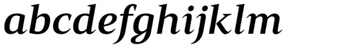 Mandrel Ext Bold Italic Font LOWERCASE