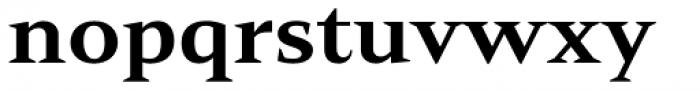 Mandrel Ext Extra Bold Font LOWERCASE