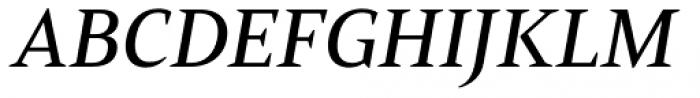 Mandrel Ext Medium Italic Font UPPERCASE