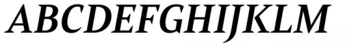 Mandrel Norm Bold Italic Font UPPERCASE