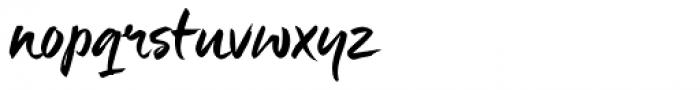 Maneo Font LOWERCASE