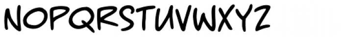 MangaMaster BB Font LOWERCASE